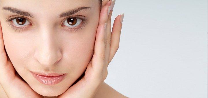 """3, 5, 7 сеансів відновлюючого і зволожуючого масажу обличчя з гіалуроновою кислотою від студії краси """"Mon Cherі""""!"""