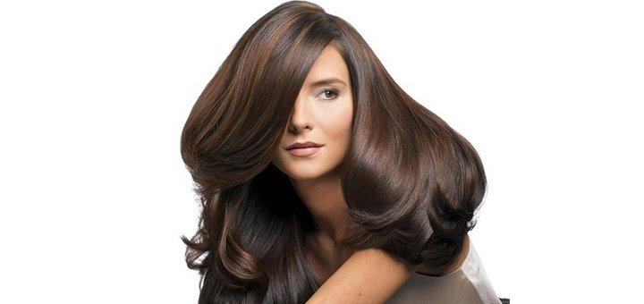 """Полировка волос, укладка на утюжок и коллагеновое лечение от сети салонов """"ЕвроПерукарня""""!"""
