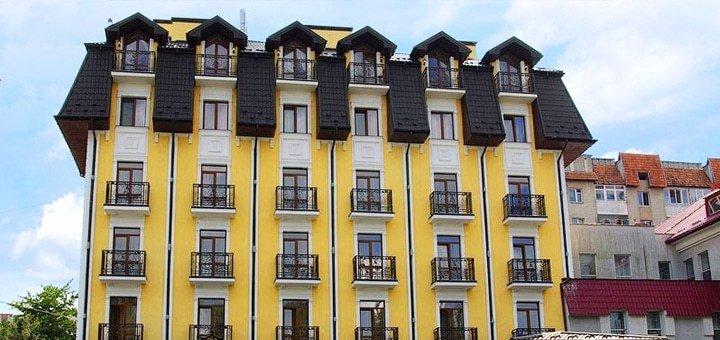 От 4 дней отдыха и оздоровления в отеле «Золотая Корона» в Трускавце