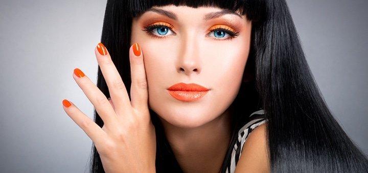 Красивые руки откроют любые двери! 1, 3 ,5 процедур гигиенического маникюра с покрытием гель-лаком от салона She&He!