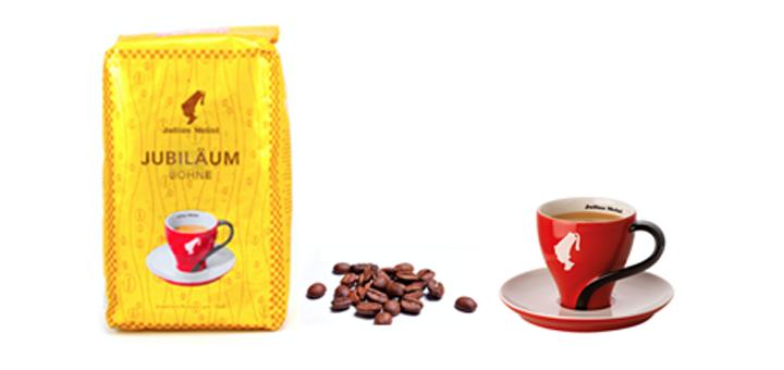 Скидка 5% на настоящий австрийский кофе Julius Meinl Jubilee в магазине кофе и чая «КофейОК»
