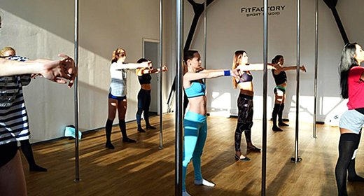До 16 занятий pole-dance или stretching от студии фитнеса «FitFactory»