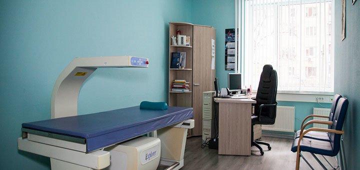 Комплексное обследование у терапевта с анализами, осмотром и измерением давления в медицинском центре «Герц»