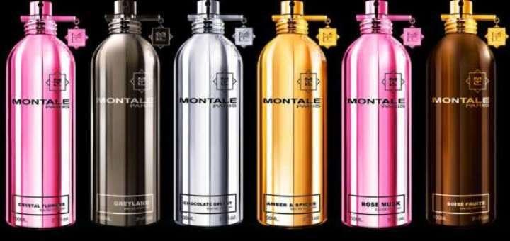 Скидка 50% на ароматы Montale и другие люксовые ароматы в «Парфюмерия Киев»