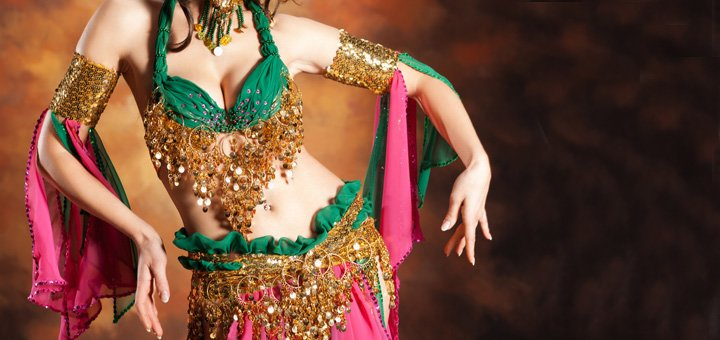 8 занятий восточными танцами в школе «Аль-Таис» Евгении Иноземцевой