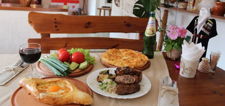 Скидка 30% на все меню кухни и бара в «Retro Tbilisi»