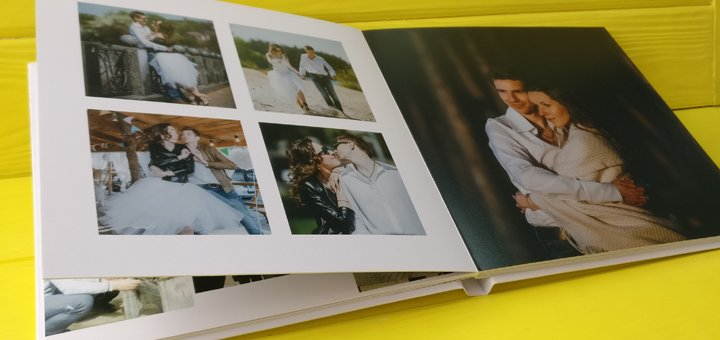 Скидка 30% на современные свадебные фотобуки от «Popartbox»