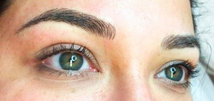 Микроблейдинг бровей в школе-студии перманентного макияжа «Micropigmentation»