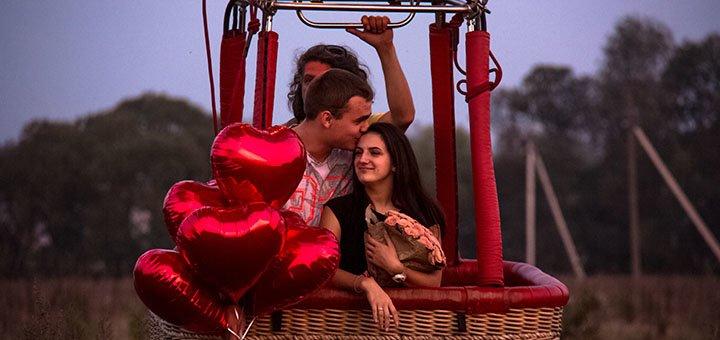 Скидка 50% на организацию предложения руки и сердца от cервиса для влюбленных Romantik.ua
