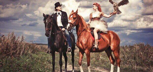 Прогулки на лошадях или аренда лошади для фотосессии в конном дворе «ЦарSky»