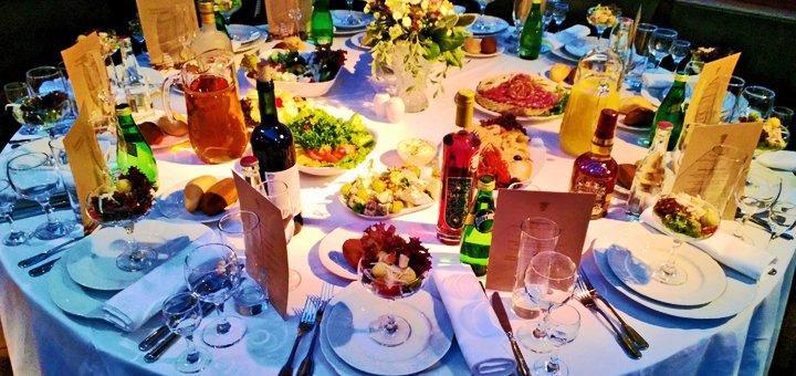 Праздничный ужин или банкет в ресторане «Dalida Bar»