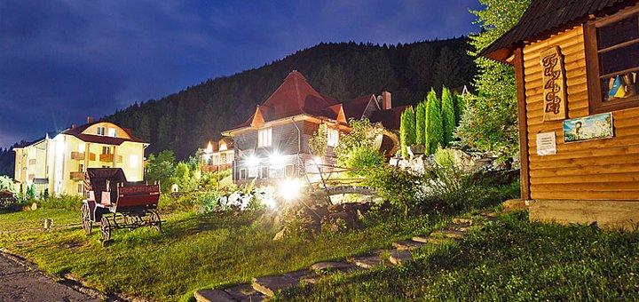 От 3 дней отыха в туристическо-оздоровительном комплексе «Маєток Сокільське» в Карпатах