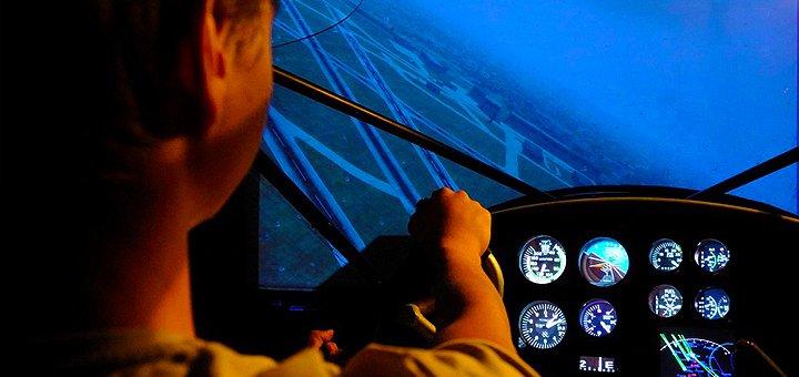 Полет на авиационном тренажере и виртуальные воздушные бои от «Virtual Flight School»