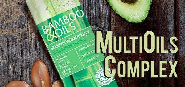 Скидка 30% на серию по уходу за сухими и поврежденными волосами «Hair Genic Bamboo&Oils»
