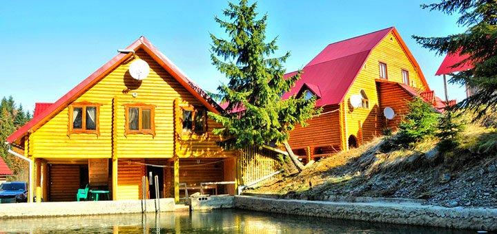 От 3 дней горнолыжного отдыха с питанием, соляной комнатой в отеле «Шепот Карпат» в Пилипце