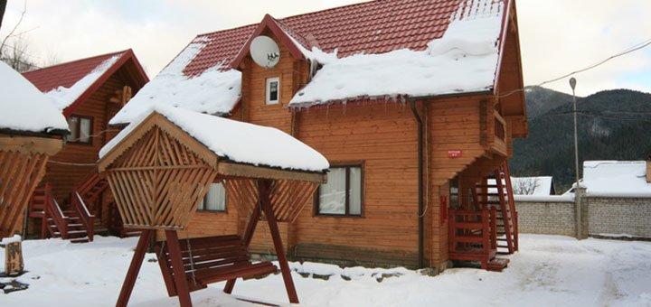 От 3 дней отдыха для компании до 4 человек в отеле «Загадка Карпат» в Татарове