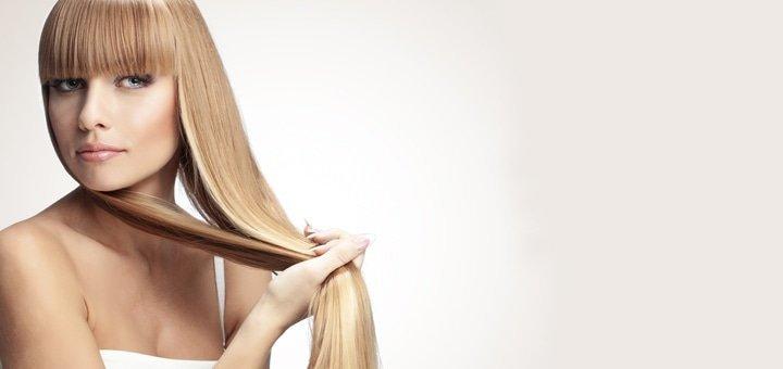 Полировка секущихся концов волос без потери длины от студии красоты Владимира Кордюка