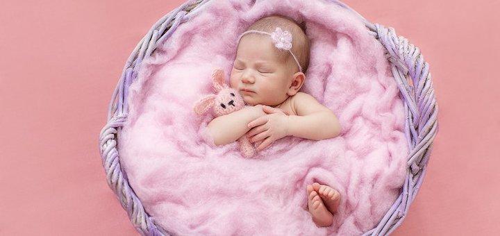 Студийная фотосессия для новорожденных от семейного фотографа «Anett Sandler»