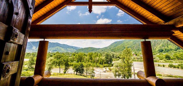 От 4 дней отдыха на майские праздники с питанием и трансфером в отеле «Кременица» в Карпатах
