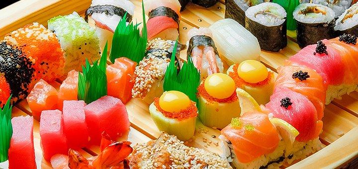 Скидка до 60% на все меню от доставки еды «Ё-PIZZA & Ё-SUSHI»
