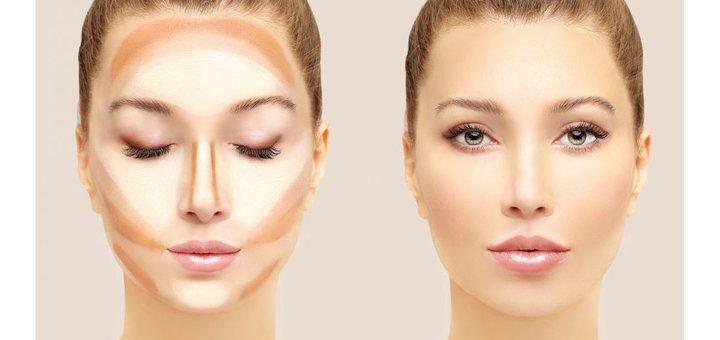Скидка 49% на палетку сухих текстур для контурирования лица Highlight & Contour Pro Palette от NYX