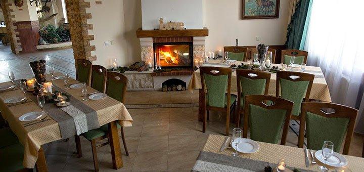 От 5 дней отдыха с питанием и пакетом услуг в SPA-отеле «Шепильская» во Львовской области