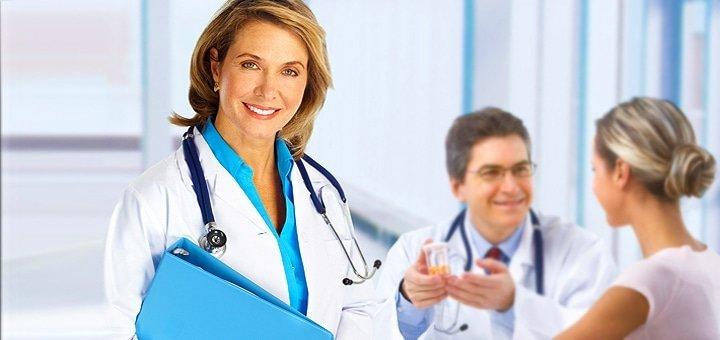 Обследование у гинеколога с анализами в медицинском центре «Alpha medical»