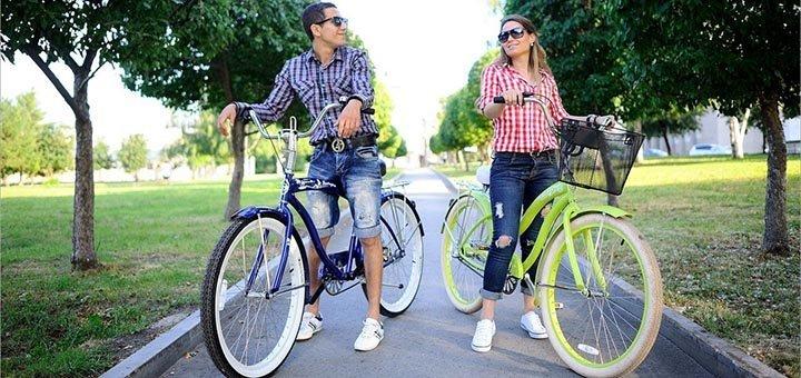 До 9 часов проката велосипеда от сети прокатов «Велократия»