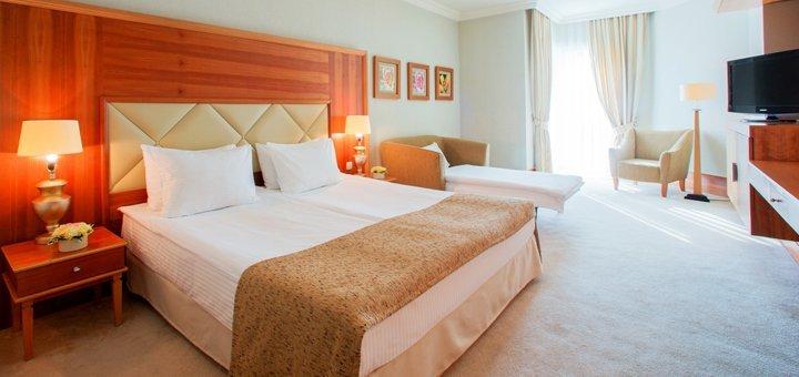 От 3 дней отдыха с завтраками и SPA в комплексе «Rixos-Prykarpattya Resort 5*» в Трускавце