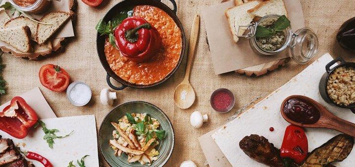 Скидка до 30% на все меню кухни и бара в ресторации «Черный поросенок»