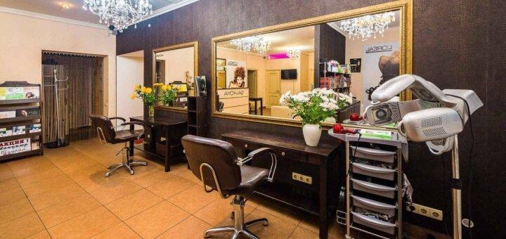 Плетение волос для детей в салоне красоты «Ansi beauty»