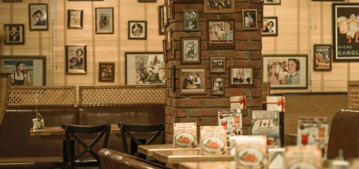 Скидка 50% на все меню кухни и весь бар в ресторане «Бавариус»