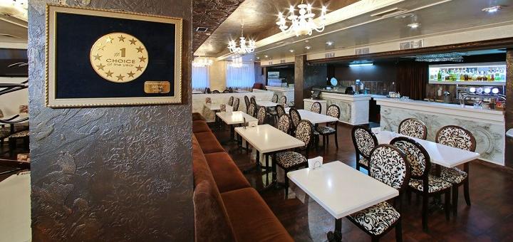 Скидка 50% на меню кухни, суши-бар и пиццу в ресторане «Mafia»