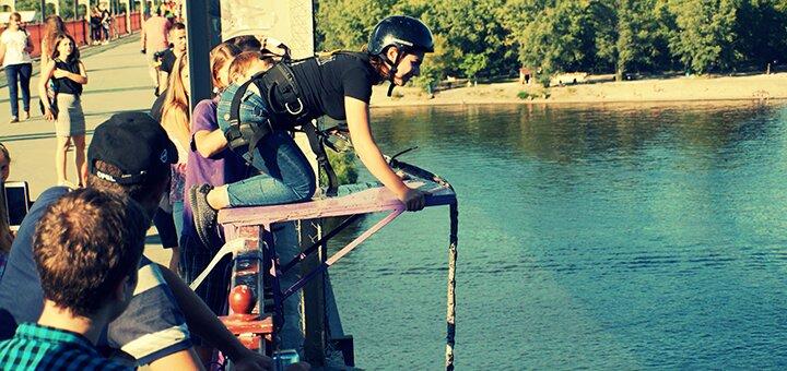 Скидка 50% на прыжок с пешеходного моста от клуба активного отдыха «Shanti Extreme»