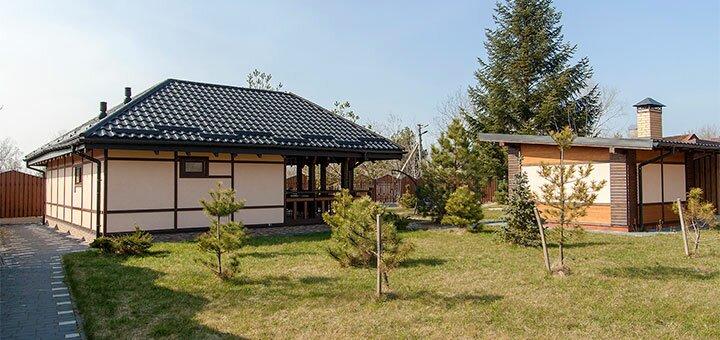 От 2 дней отдыха в мае и летом в загородном комплексе «Дача»под Львовом