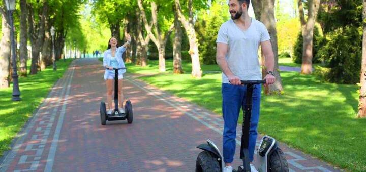 Скидка 50% на прогулки на оригинальных электросамокатах Segway по Межигорью от «Green Wheels»