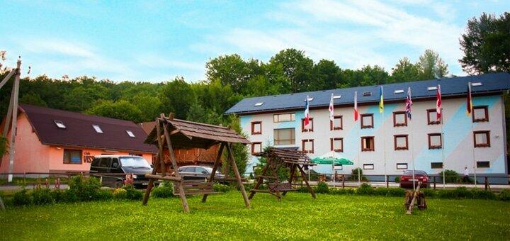 От 3 дней отдыха с питанием и дополнительным пакетом услуг в отеле «Club Visson» в Карпатах