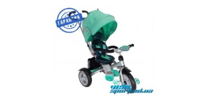 Скидка 14% на детский трехколесный велосипед-коляска crosser T-503 Air