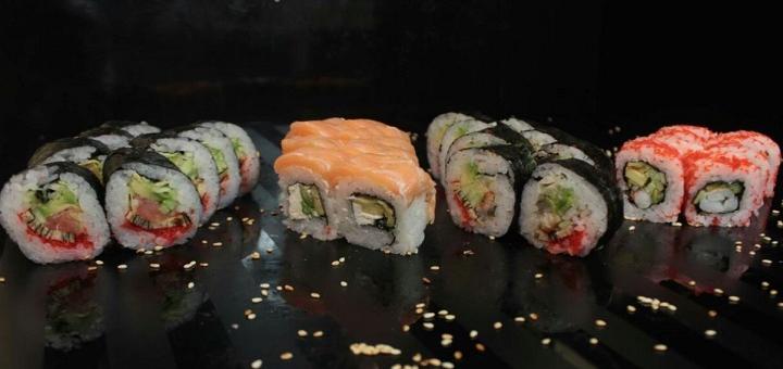 Знижка 40% на набори суші з доставкою чи самовиносом від служби доставки японської їжи «Katana»