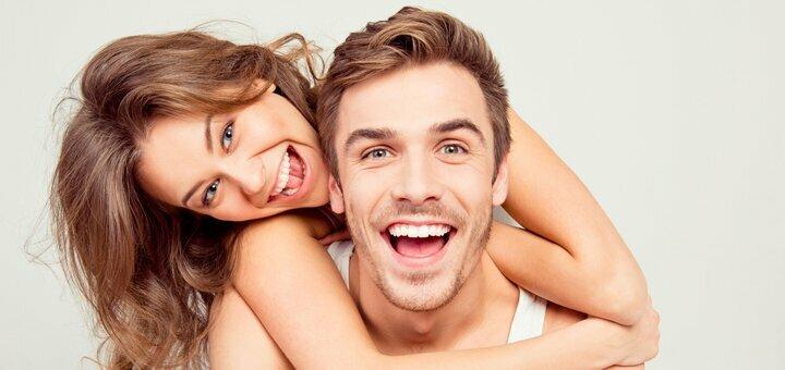 Скидка 55% на чистку зубов и отбеливание зубов системой «MagicSmile» в стоматологической клинике «Градия»
