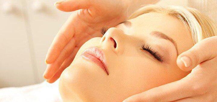 Комплексная чистка лица с пилингом, массажем и маской по типу кожи в «Time4beauty»