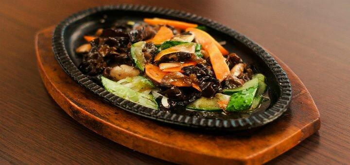 Скидка 50% на всё меню кухни в ресторане и на вынос в «Food WOK»