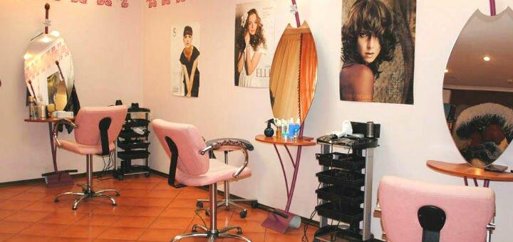 Стрижка, укладка и окрашивание волос в студии красоты «Elle»