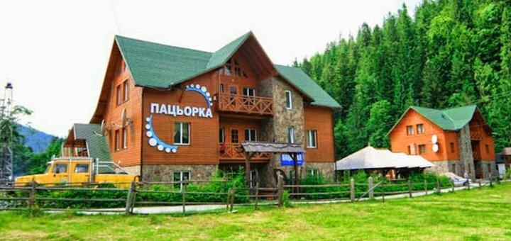 От 3 дней отдыха с питанием в отеле «Пацьорка» вблизи Буковеля