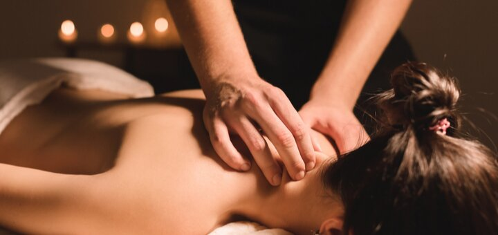 Скидка до 84% на массаж тела в центре красоты и здоровья «Оберег»
