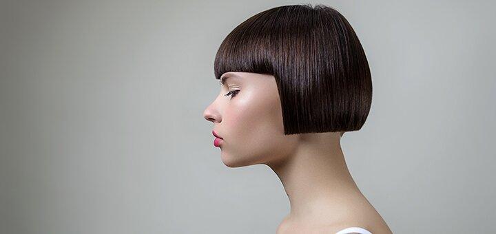 Мужская или женская стрижка для волос любой длины в салоне красоты «CUT ONE»