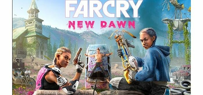 Скидка 400 гривен на FarCry New Dawn для PS4 от «Грейпл»