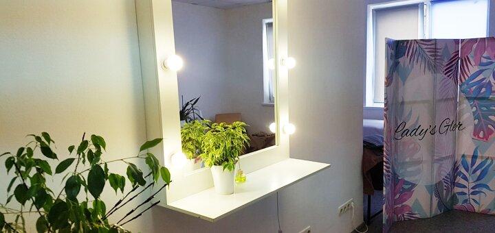 Индивидуальный курс маникюра с покрытием гель-лаком в салоне красоты «Lady's Gler»