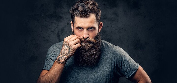 Мужская стрижка, укладка и коррекция бороды в салоне красоты «Мишель»