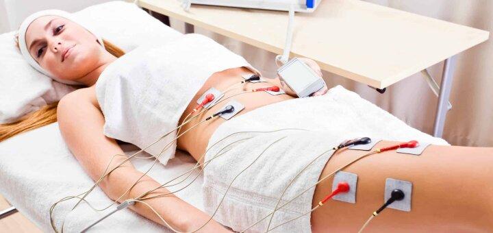 До 10 сеансов миостимуляции тела в косметологическом кабинете  «Красотка»